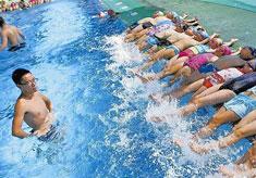 游泳培训精品小班