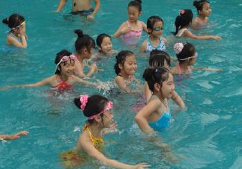 北京儿童游泳班