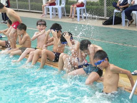 幼儿游泳教学